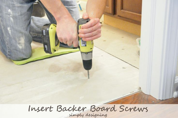 How to Install Concrete Backer Board {Tile Installation: Part 2} #thetileshop @The Tile Shop