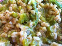 Golosando...serenamente!: Farro con asparagi
