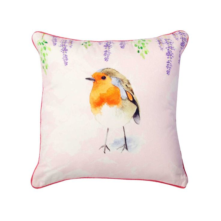 Birdy Cotton Cushion - Reminisce your childhood with this luxury birdy cushion online which highlights volumes of colour, comfort and softness. Being an exclusive cushion online, this cotton cushion also makes for a good gifting option for kids.#INVHome #LuxuryHomeDecor #InteriorDesign #RoomDecor #Decorations #Decor #INVHomeLinen #Tableware #Spa #Gifts #Furniture #LuxuryHomes #Cushions