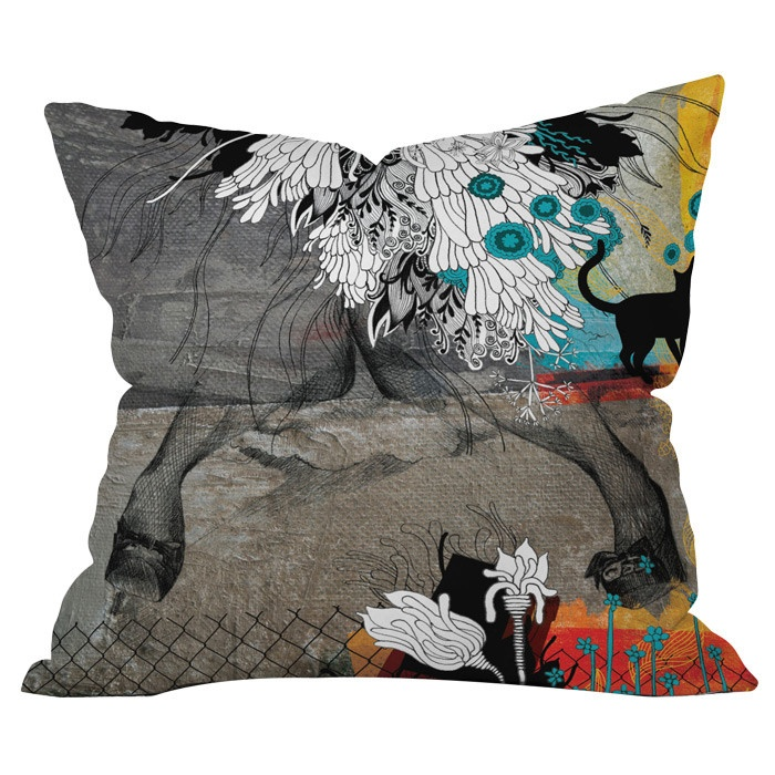 stay awhile cushion  #introdesign #cushion #prints #textiles