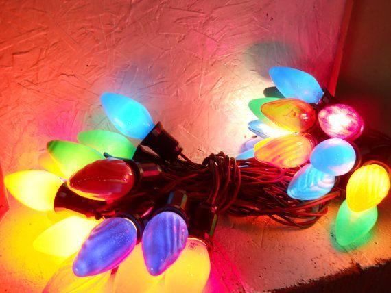 11 best i love vintage christmas lights images on pinterest