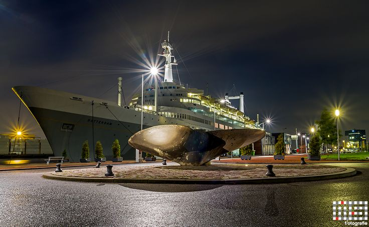 SS Rotterdam by night| Rotterdam | Netherlands | Guided Tours | The Original Rotterdam Way! | https://www.RotterdamAdventures.nlFoto Marc van der Stelt ‏