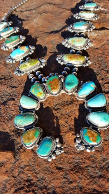 New Squash blossom necklace for www.britwest.net