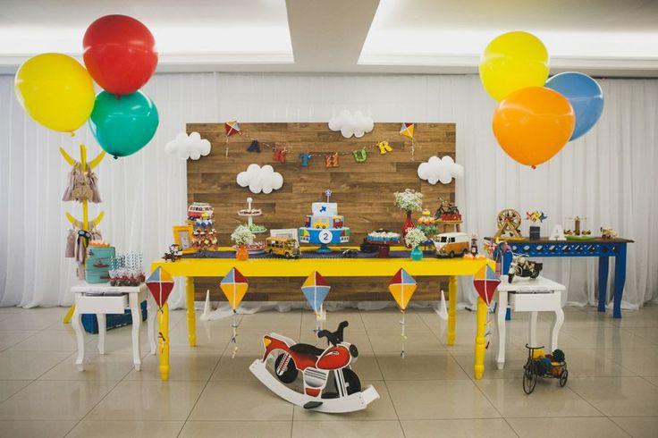 Festa Infantil - Brinquedos do Arthur | Decoração: Rubia de Lima, Fotografia: Edu Ribas e Jaqueline Mai, Vídeo: Exclusive Filmes