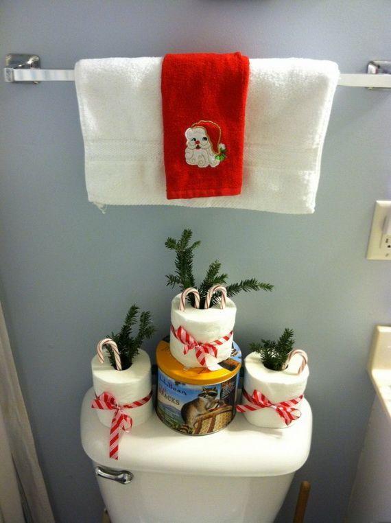Bathroom Decorating Ideas For Christmas best 25+ christmas bathroom decor ideas on pinterest | christmas