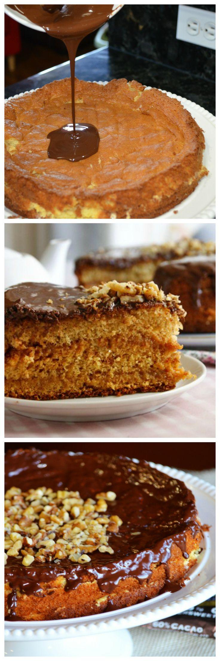 Honey Walnut Cake @GrabandgoRecipes.com Home Cooking   *:*:*:Dessert ...