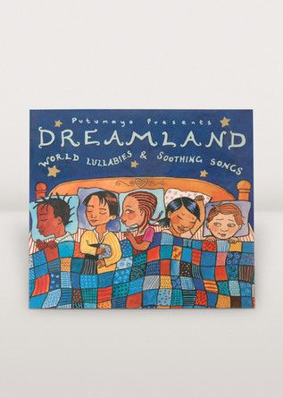 Comforting lullabies, peaceful melodies, and soothing tunes from Europe, Asia, Africa, and North and South America. This fantastic musical collection invites listeners to relax with engaging songs that generate a calm ambiance. As part of Putumayo's award-winning children's series, Dreamland is not just a collection for kids -- it's great for all ages!
