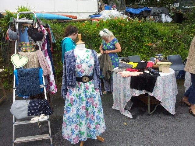 Marketday at the hostel