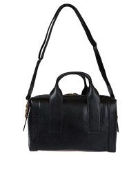 Pierre hardy Black Leather Bowling Bag in Black | Lyst