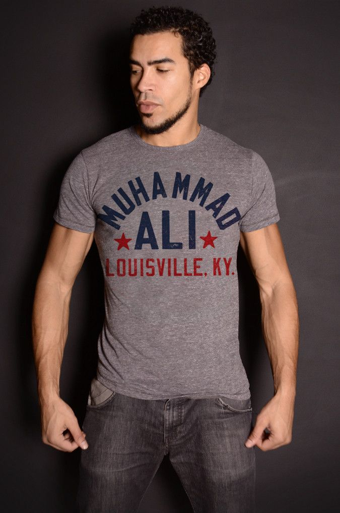 Muhammad Ali Float Quote Triblend Tee | Roots of Fight