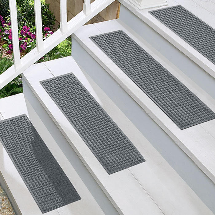 These Waterhog Treads Work Well Indoors And Outside. Waterhog Stair Treads  Are Commercial Grade And Stain , ...