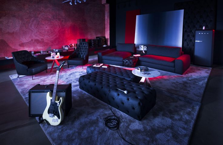 #BertoLive Collection | Joey denim sofa. Beyond the Living Room. The Loving Room.