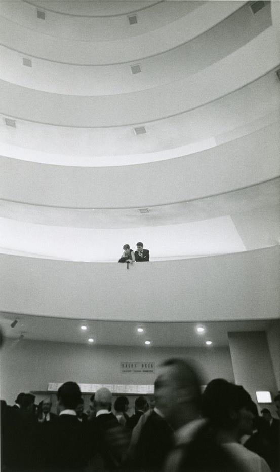 Guggenheim Museum N By Bernard Gotfryd NYHS Image Gift Of CBernard