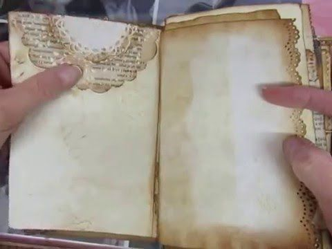 Junk Journal Tutorial and Flip Through - YouTube