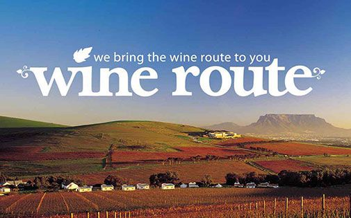 Too cold for the wine route? Thanks to #Checkers, the wine route can come to you!