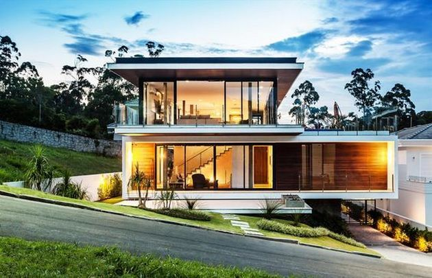 20 Key Pieces Of How To Create A Panoramic View At Home House Exterior Modern House Exterior House Designs Exterior