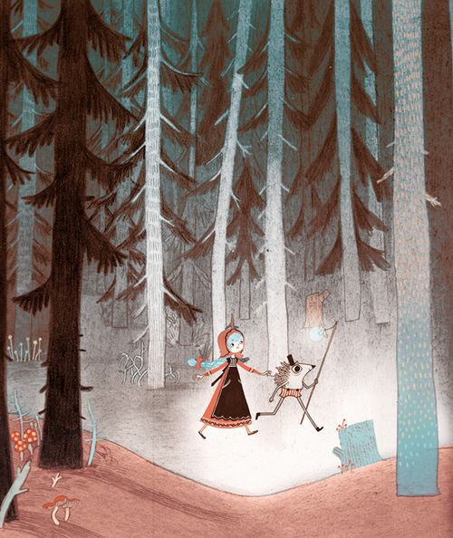 """Illustrated Ladies_""""Russian Fairy Tales"""" by Isabella Mazzanti"""