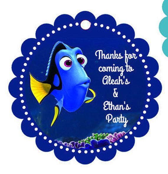 Búsqueda de Dory buscando a Nemo fiesta favor por MyKraftygoodness
