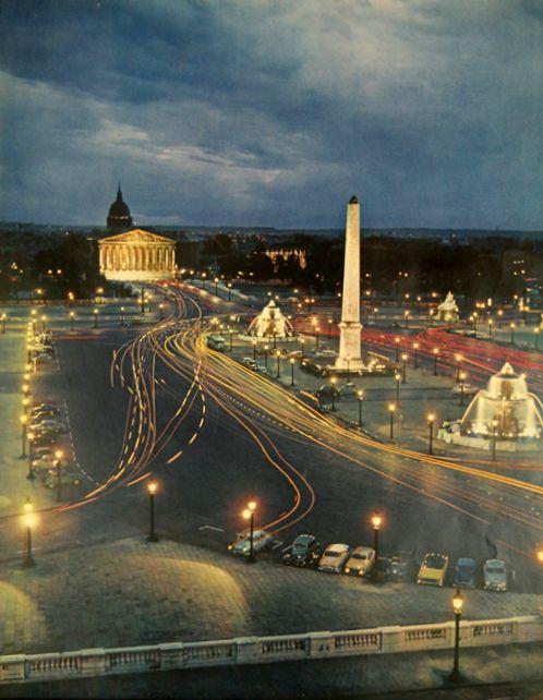 Place de la Concorde,Paris 1960 -   Ervin Marton