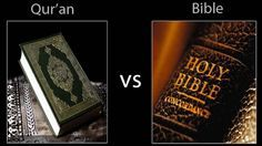 The violent verses in the Bible were for a specific time and place; the violent verses in the Quran are spoken in general terms.