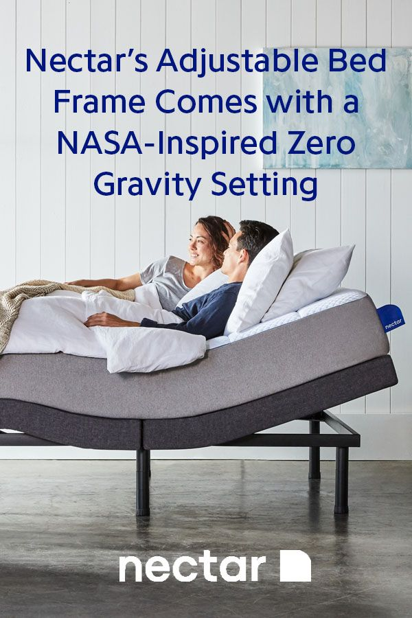 Nectar S Adjustable Bed Frame Has A Nasa Inspired Zero Gravity