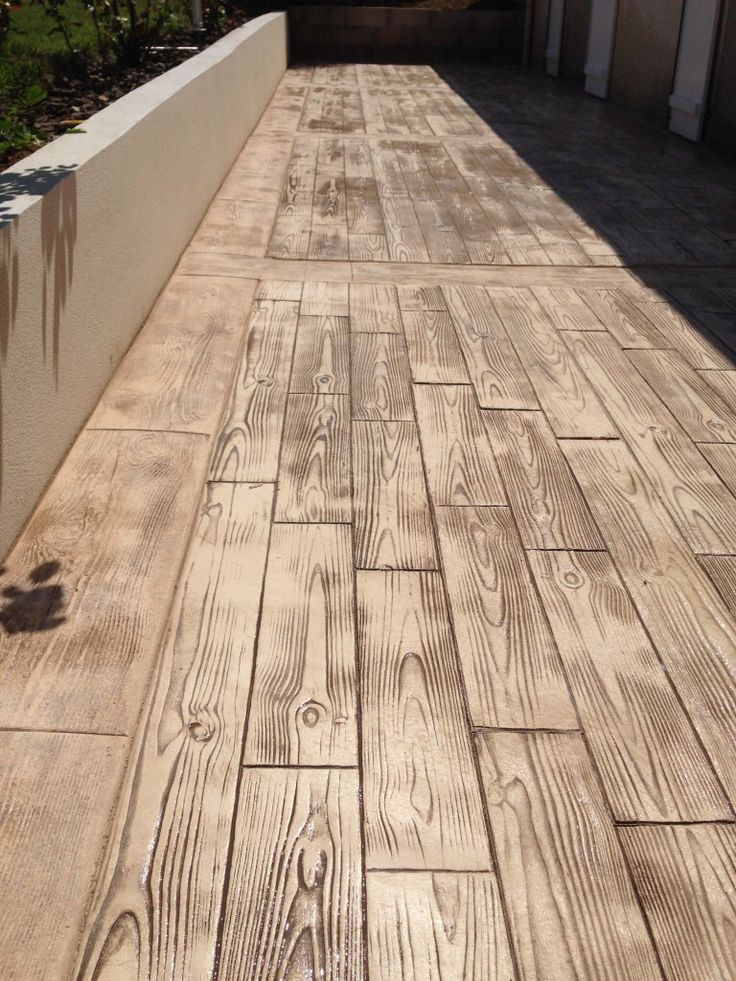 10 best images about Beton Imprime on Pinterest Home Renovation - beton decoratif pour terrasse