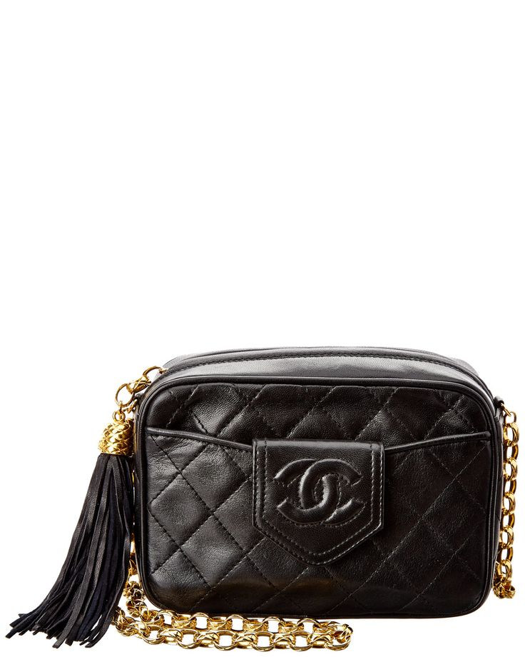 You need to see this Chanel Black Quilted Lambskin CC Camera Bag on Rue La La.  Get in and shop (quickly!): http://www.ruelala.com/boutique/product/100944/30038507?inv=slasch01&aid=6191