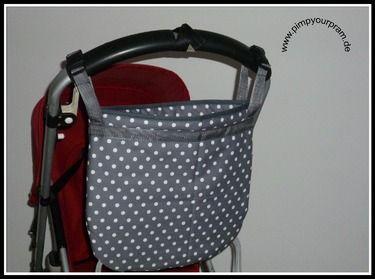 Kinderwagentasche für den Schiebegriff/Utensilo