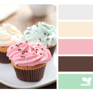Design Seeds for all who color frosted tones