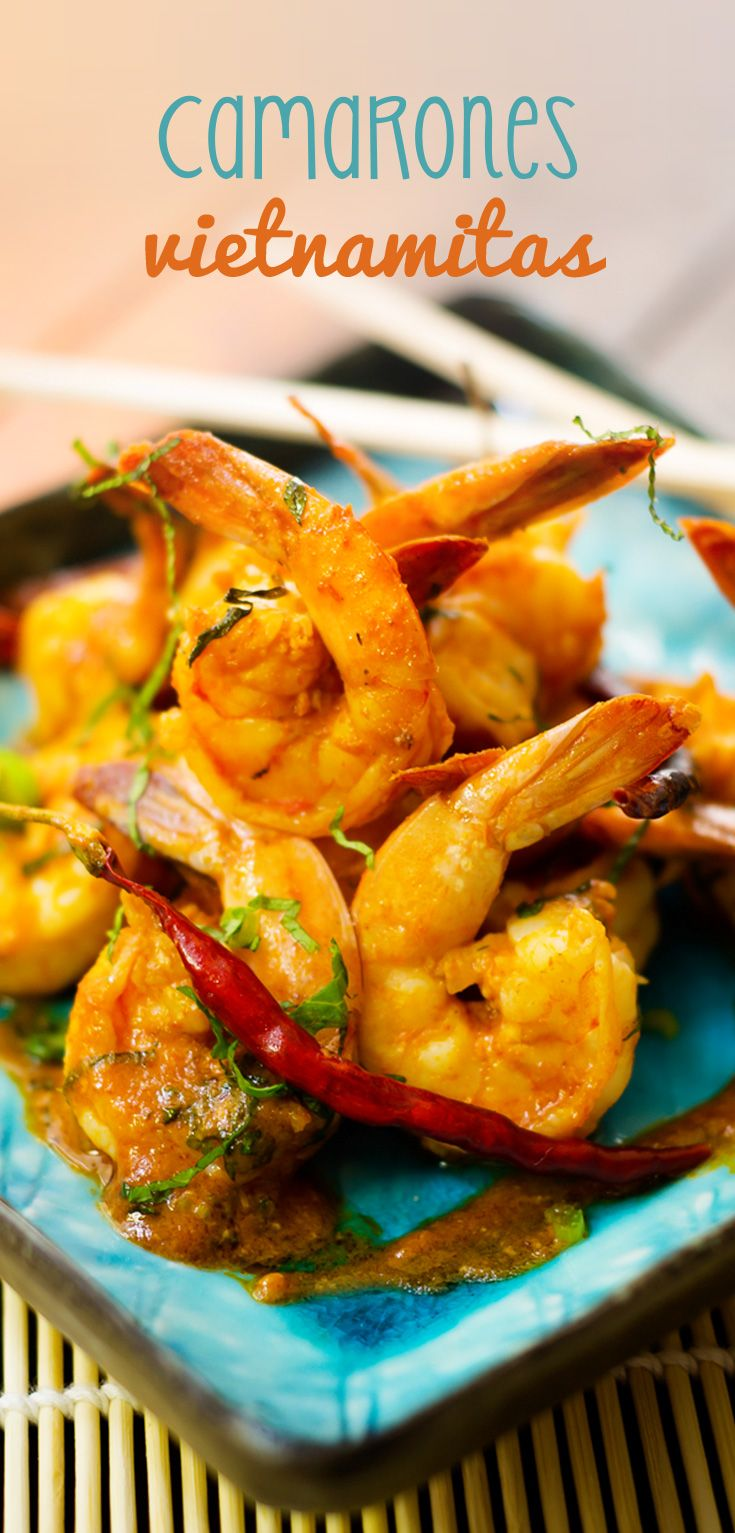Una manera única de darle un nuevo giro a tus preparaciones con camarón. Ésta receta está inspirada en la cocina de Vietnam, donde fusionan sabores dulces, picantes y salados.