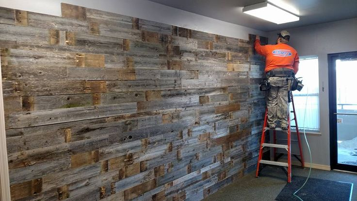 17 best images about reclaimed pallet wood walls on for Local reclaimed wood