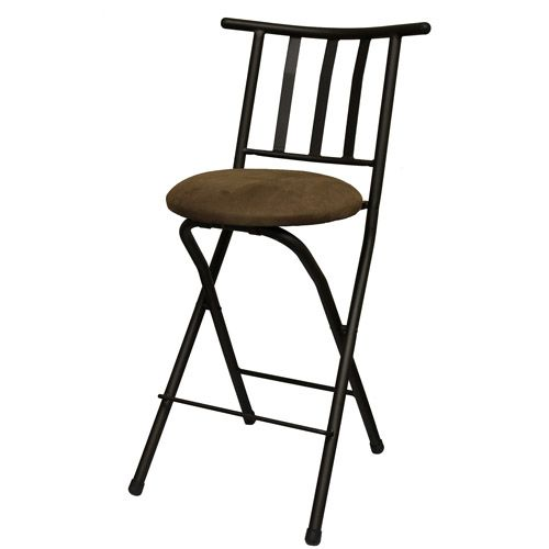mainstays 24 slat back counter height barstool multiple colors cushions stools and counter. Black Bedroom Furniture Sets. Home Design Ideas