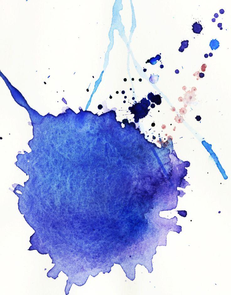 Watercolor splatter google search art tutorials pinterest