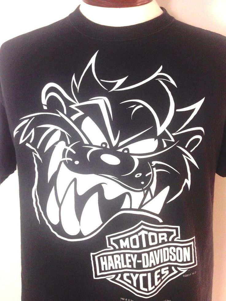 Harley Davidson T Shirt Large Mens Black Jackson
