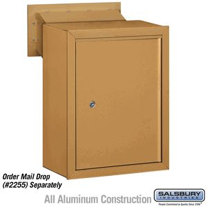 Receptacle   Option For Mail Drop   Brass
