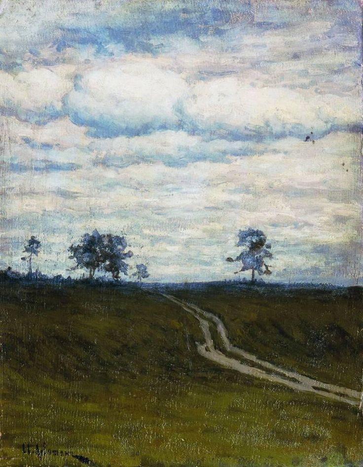 Isaac Levitan - Gloomy (1899)