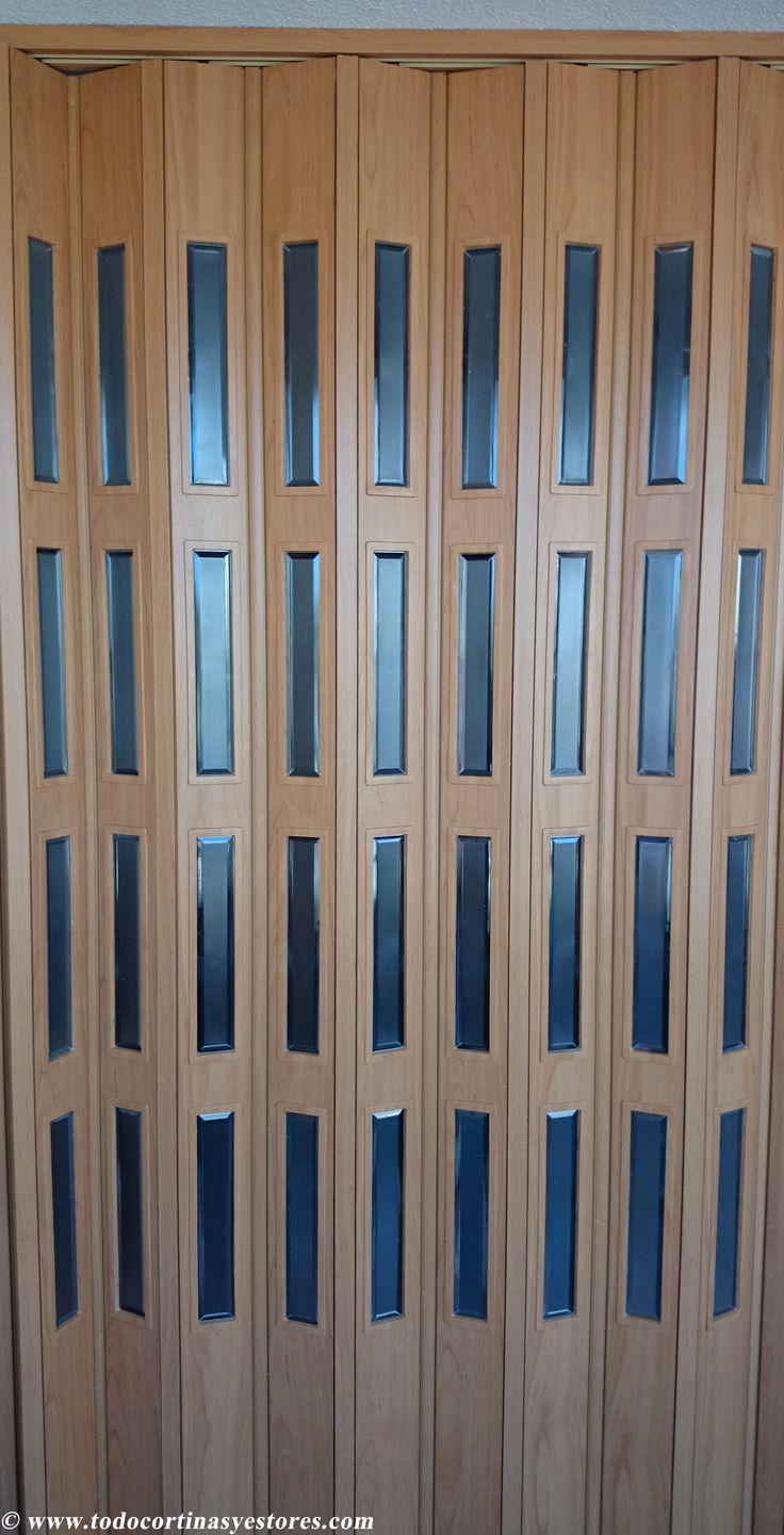 Puerta plegable de PVC