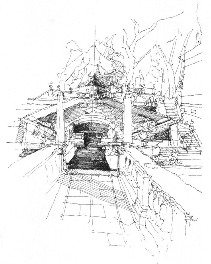 SKETCHES - BEAUTIFUL HOUSES