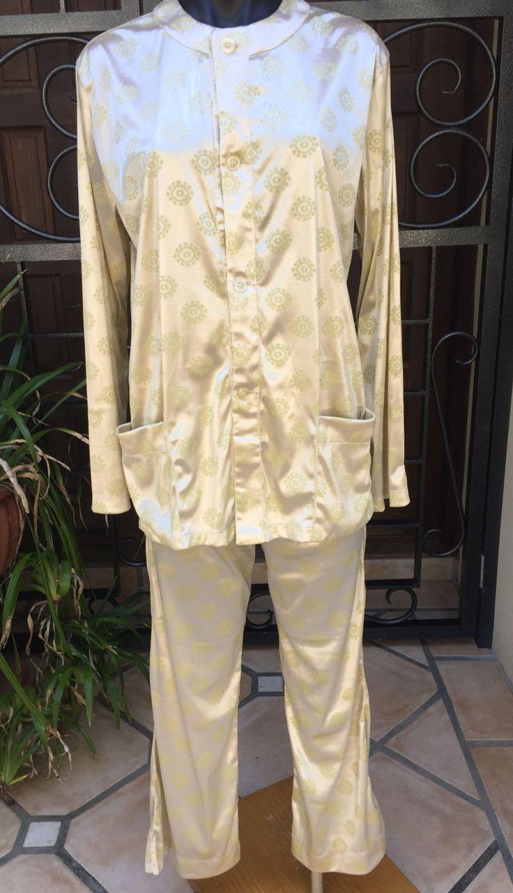 Vintage Italian Arcte Gold Lounge Wear Pyjamas Size Medium 10-12  FREE WORLDWIDE SHIPPING by PippiLime on Etsy