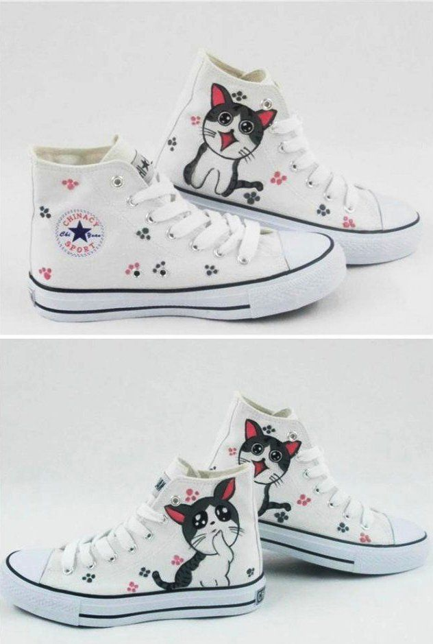 Converse DIY Ideas - Modern Magazin - Art, design, DIY projects, architecture, fashion, food and drinks
