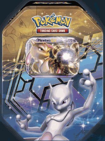 2012 Pokemon Dragons Exalted Mewtwo-EX Legendary Collector`s Tin - Pokemon Black  White for only $14.04