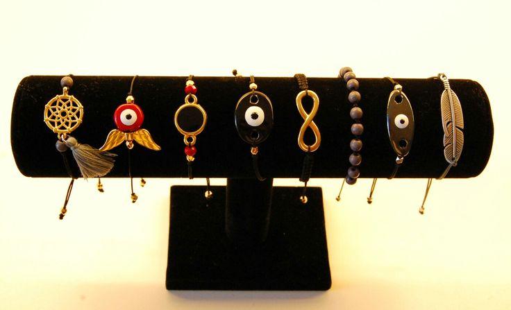 Handmade bracelets #dreamcather #evileye #infinity