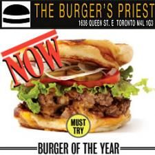 """The Burger's Priest considered """"Best Burger in Toronto"""" >> Best Burger in Toronto --> www.newswire.net/newsroom/pr/74947-best-burger-in-toronto.html"""
