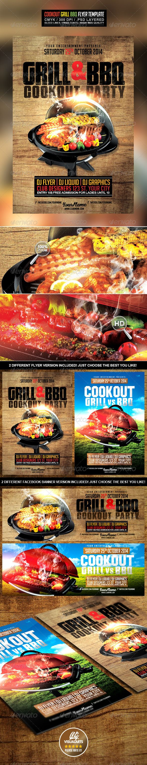 56 best dsp cookout graphics images on pinterest flyer