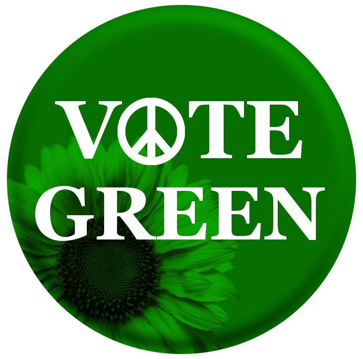 The Green Party - ever so proud that Caroline Lucas, the leader of the Greens, is my local MP and that Brighton has the first Green-led council in the UK.