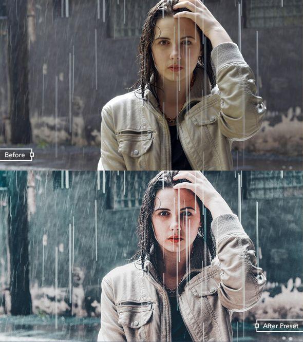 Film look in lightroom