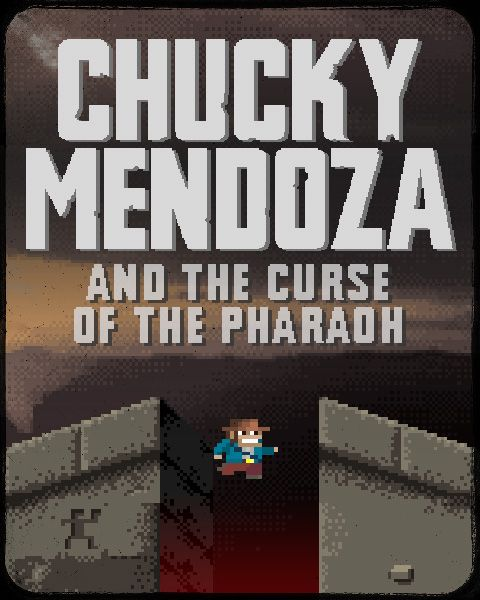 Chucky Mendoza is now available on FireFlower. Chucky Mendoza and the Curse of the Pharaoh is a lovely and charming old school platformer inspired by 80's 8-Bit retro games on classic computers like the C64. Run across the screen, jump over obstacles, collect treasures throughout a cursed pyramid, avoid tripmines, lava pits and various deadly ene­mies (including bats, mummies, bugs, cobras) along the way.