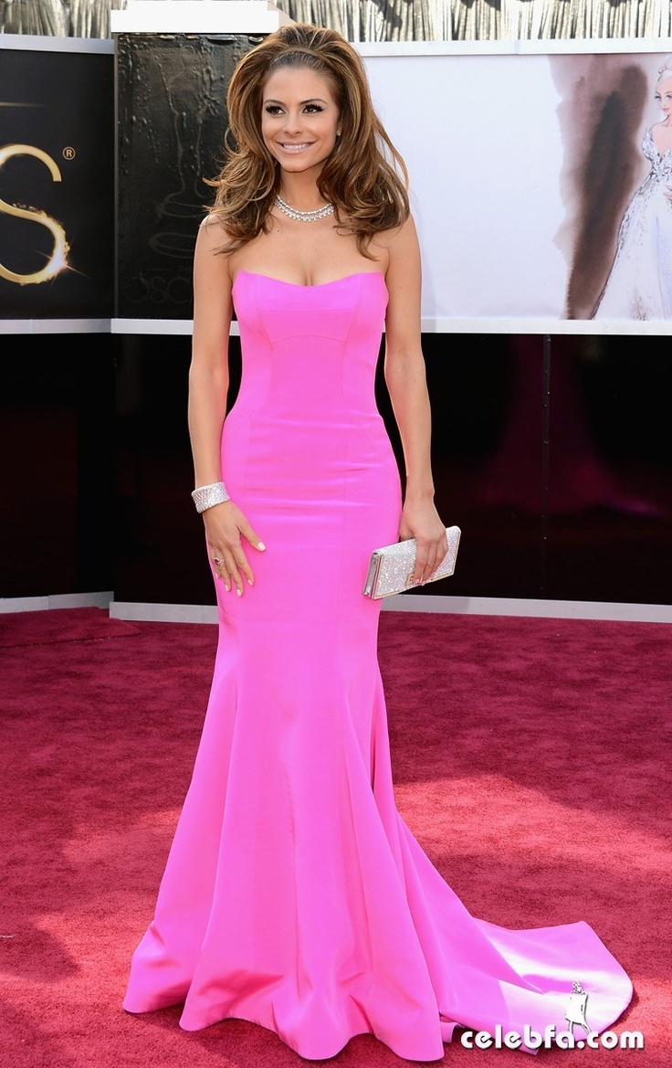Maria Menounos-Oscars 2013 Red Carpet
