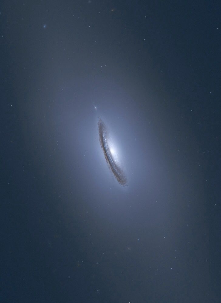 NGC 4526 near Virgo Constellation