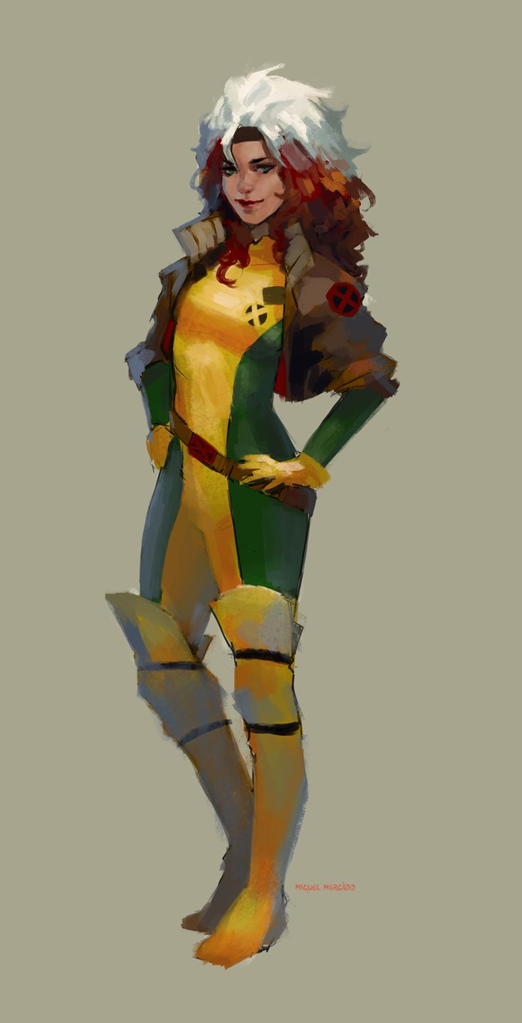 Rogue Marvel Concept Art Wwwpixsharkcom Images